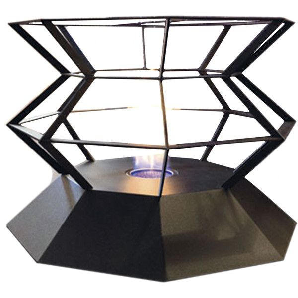 Altro Fuoco Spyro fireplace ($810) ❤ liked on Polyvore featuring home, home decor, fireplace accessories, home & gardenfireplaces, metal home decor, outdoor home decor, outside home decor and outdoor fireplace accessories