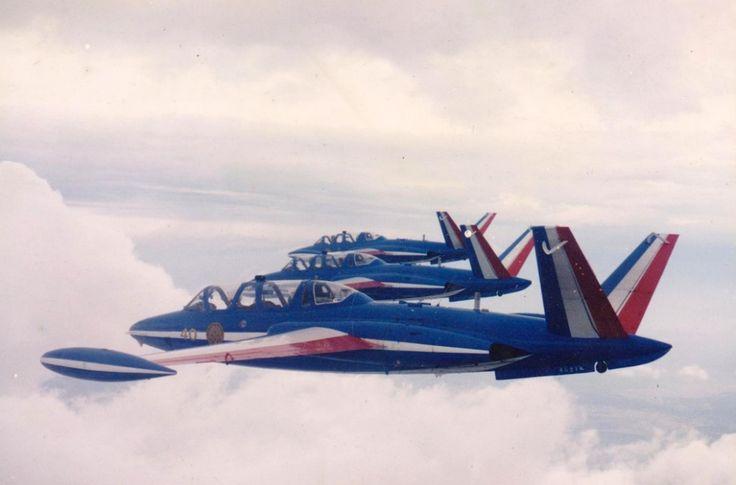 Patrouille de France - Anciens aéronefs