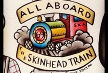 Skinhead Tattoos / Skinhead related tattoos
