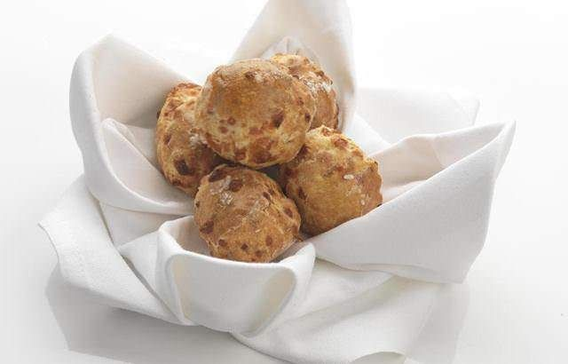 This cheese scones recipe is from Daniel Clifford at Midsummer House. They make the most delightful canapé served warm with a little bit of butter