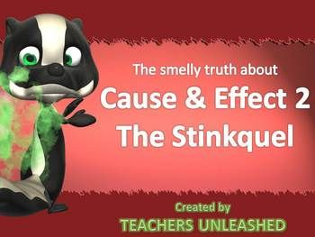 Is your class stinky at understanding cause and effect in sentences and paragraphs….then have no fear.