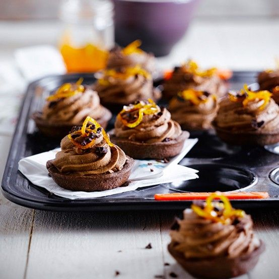 Fill chocolate pastry cases with this feather-light chocolate mousse for a…