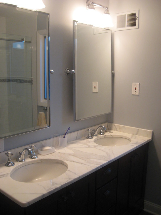 Original Restoration Hardware Bathroom Mirror Cottage Bathroom Annie Sloan