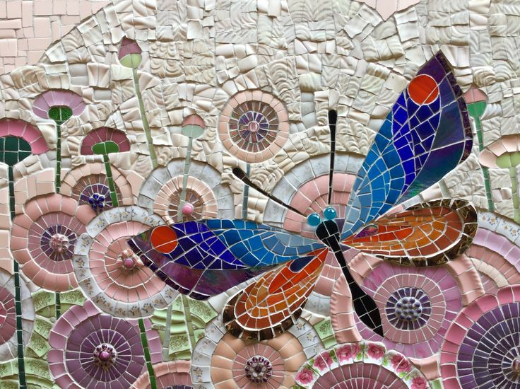 443 best images about mosaic art on pinterest peacocks for Mosaic pieces for crafts