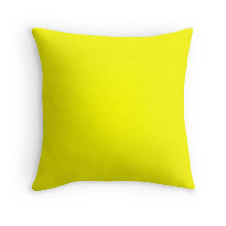 Yellow No1 - Colorful Home Decor Ideas ! Throw Pillows - Duvet Covers - Mugs - Travel Mugs - Wall Tapestries - Clocks -Acrylic Blocks and so much more ! Find the perfect colors for your Home: Makeitcolorful.redbubble.com