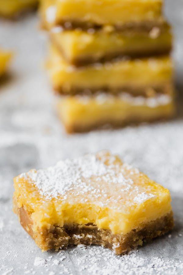 20 Snacks That Are On The Mediterranean Diet Lemon Bars Healthy