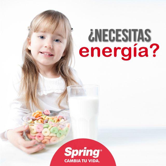 Incluir #avena en tu #desayuno, te mantendrá lleno de energía durante todo el día #bienestar #comidasana #SpringMeCuida