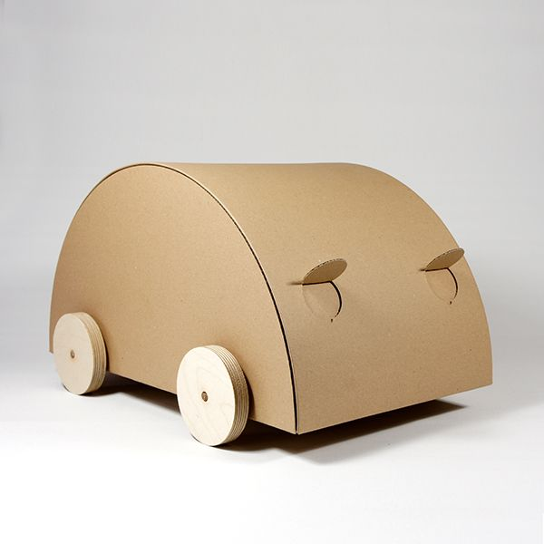 cardboard car KAARA - natur | MORROWS