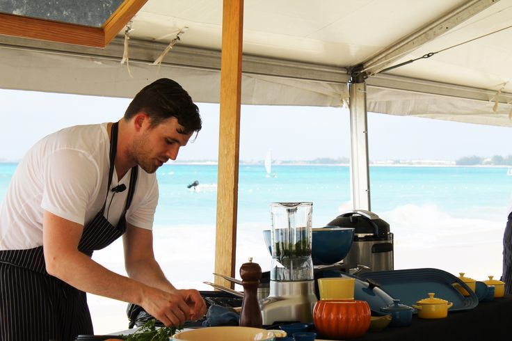 Cayman Island Cook out with Anthony Bourdain, Eric Ripert, Dale MacKay and Jose Andres