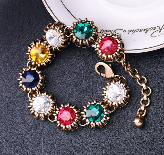 Women Jewelry Fashion Planets Bracelet from Qingdao Shijie Fashion Jewelry. Minimum order quantity 12 pcs per design. RICH SKU in stock Whatsapp +8613792846305 #fashion #bracelet #fashions #jewelry #stones #Glass #colors #rainbow #amazing #statement #accessories #planets #women #style #trendy #beauty #colors #gold #girl #gift #wholesale #boutique #dress #clothes #wholesaler #retail #stores #unique #kissme #shijie