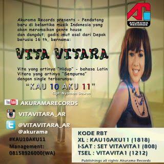 Lirik Lagu Vita Vitara - Kau 10 Aku 11