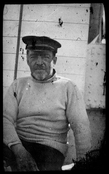 Shackleton in repose.