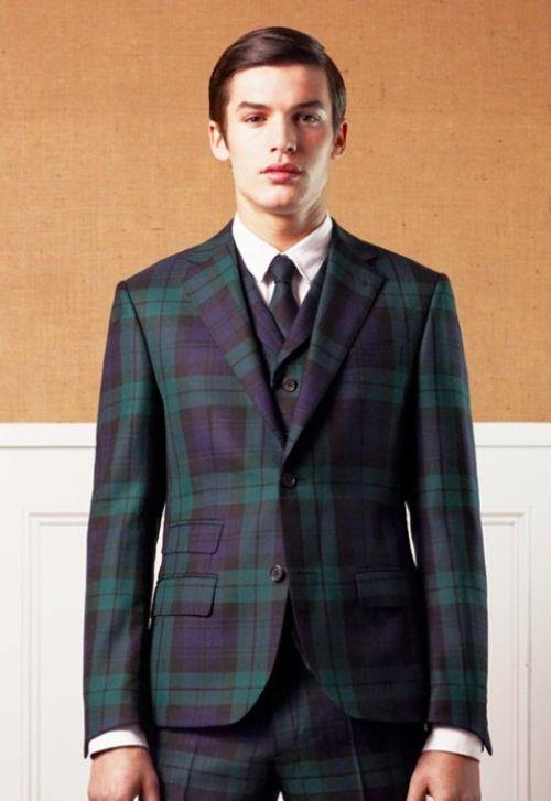 830c6389d55 black watch plaid. suit. suiting. vest. three piece. tartan. scotland.  pants. men's fashion. style. www. dripcult.com - home - drip cult …