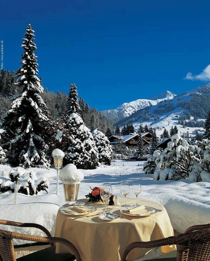 Good morning from Gstaad, Switzerland