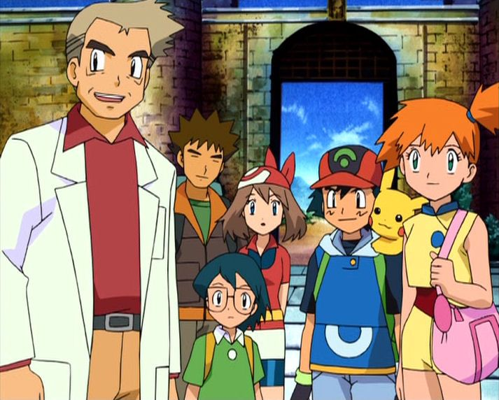 Ash (OS), Misty, Brock, Pikachu y Togepi by adfpF1 on DeviantArt