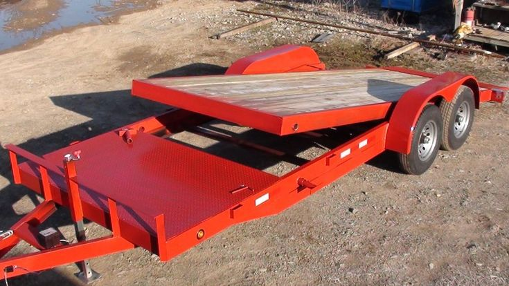 12k 18+4 Tilt Bed Skid Steer Hauler Equipment Trailer
