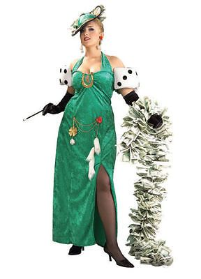 Lady-Luck-Halloween-Costume-Casino-Winner-Dress-PLUS-SIZE-16-22