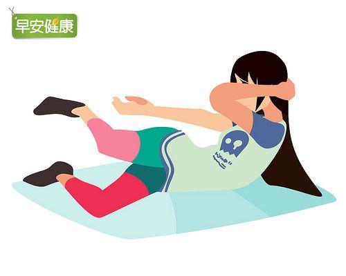 1動作就能瘦小腹,還能提高代謝讓內臟歸位 | 瘦身 | 懶人瘦身 | www.everydayhealth.com.tw 早安健康
