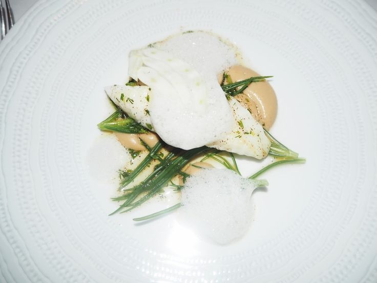 John Dory fish course at Marianne, Notting Hill