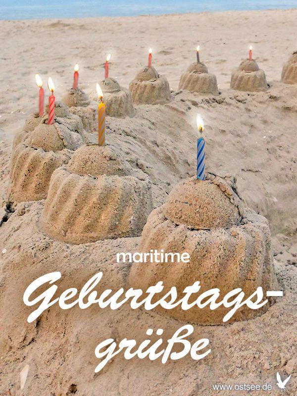 Herzlichen Gluckwunsch Zum Geburtstag Liebe Grusse Von Der Ostsee