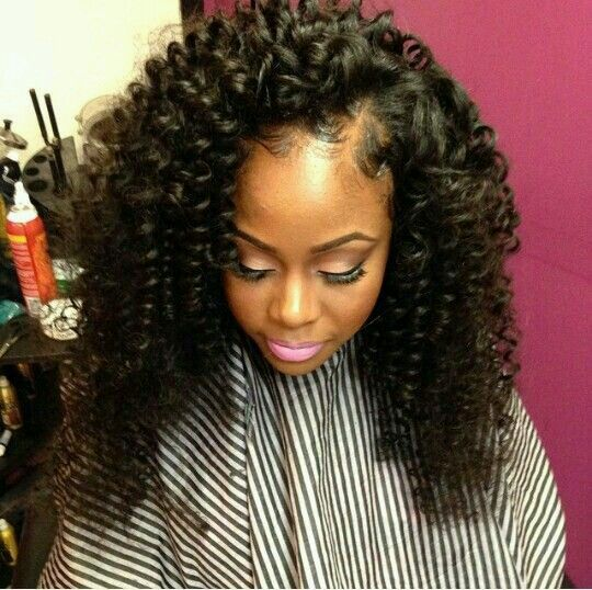 14 best hair images on pinterest braids hairstyles and big curly side part sew in pmusecretfo Gallery