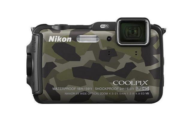 Nikon Coolpix AW120 Camo fra Mpx. Om denne nettbutikken: http://nettbutikknytt.no/mpx/