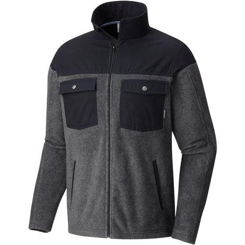 Columbia Sportswear Men's Steens Mountain Novelty Fleece Jacket (Charcoal, Size Medium) - Men's Outerwear, Men's Fleece at Academy Sports