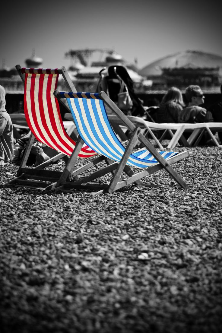 Photograph I Do Like To Be Beside The Seaside By Steve Clancy On Find This Pin And More Black White With Color Splash