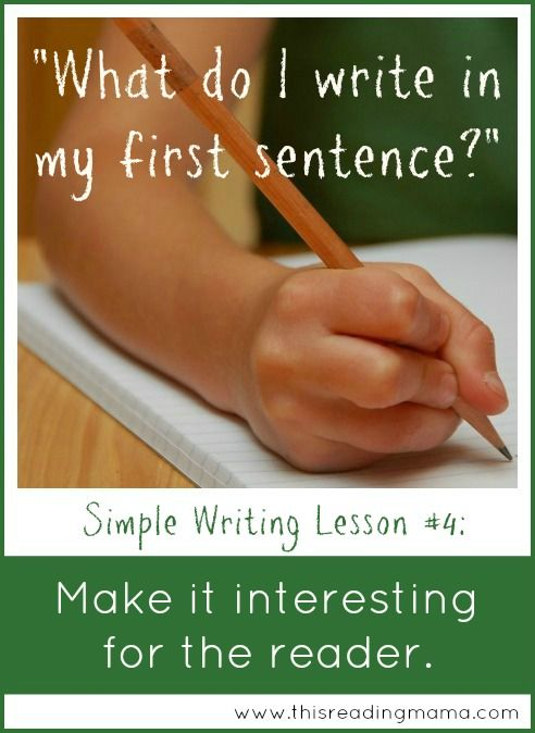 Make it Interesting for the Reader ~ Writing Strategy for Kids | This Reading Mama