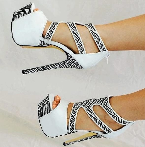 Fashion high #heel shoes