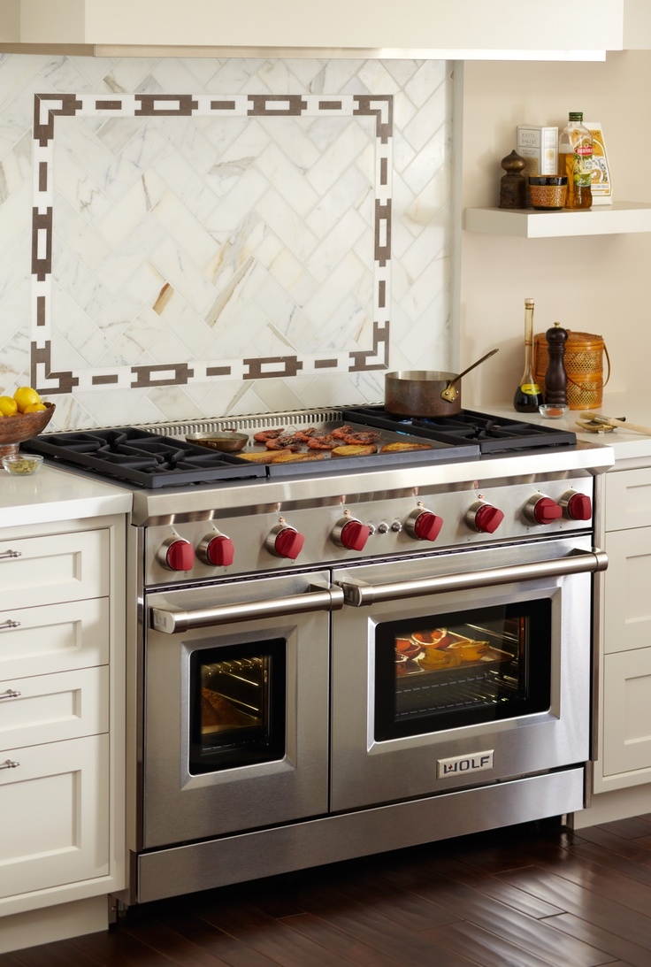 Contemporary range from wolf model 4 burners griddle - Find This Pin And More On Wolf Gas Ranges