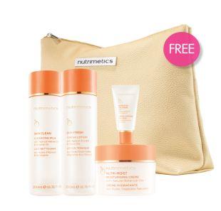 Nutrimetics Australia & New Zealand - Nutrimetics Set + FREE Nutri-Eyes Eye Crème + 'Iconic Beauty' Bag - check out the new look.