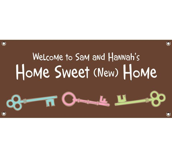 Housewarming Party Theme Banner In 2019