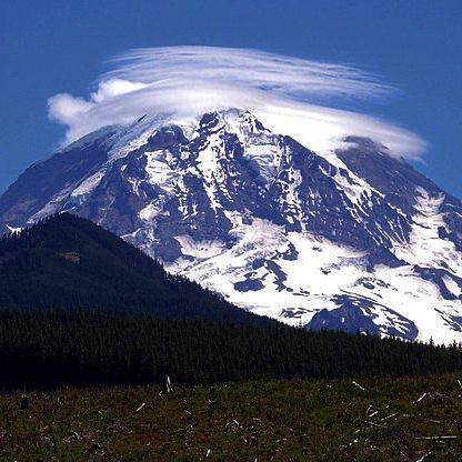 アメリカ レーニア山