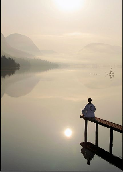 Retreat in silence...So peaceful... Source: http://healthful.tumblr.com/page/74