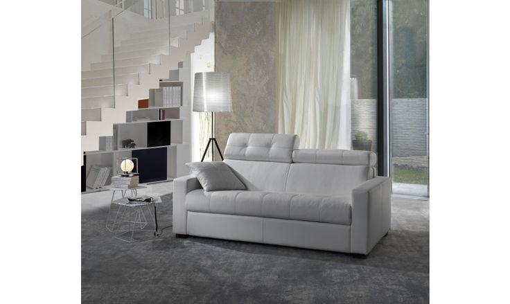 avec une t ti re rabatttable ce canap convertible mise. Black Bedroom Furniture Sets. Home Design Ideas