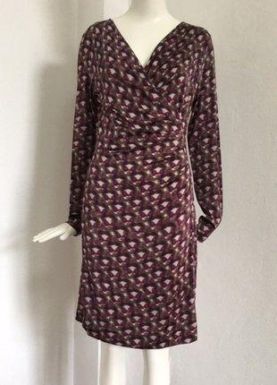 Kaufe meinen Artikel bei #Kleiderkreisel http://www.kleiderkreisel.de/damenmode/klassische-kleider/148298621-drapiertes-kleid-wie-wickelkleid-ist-aber-geschlossensehr-praktisch