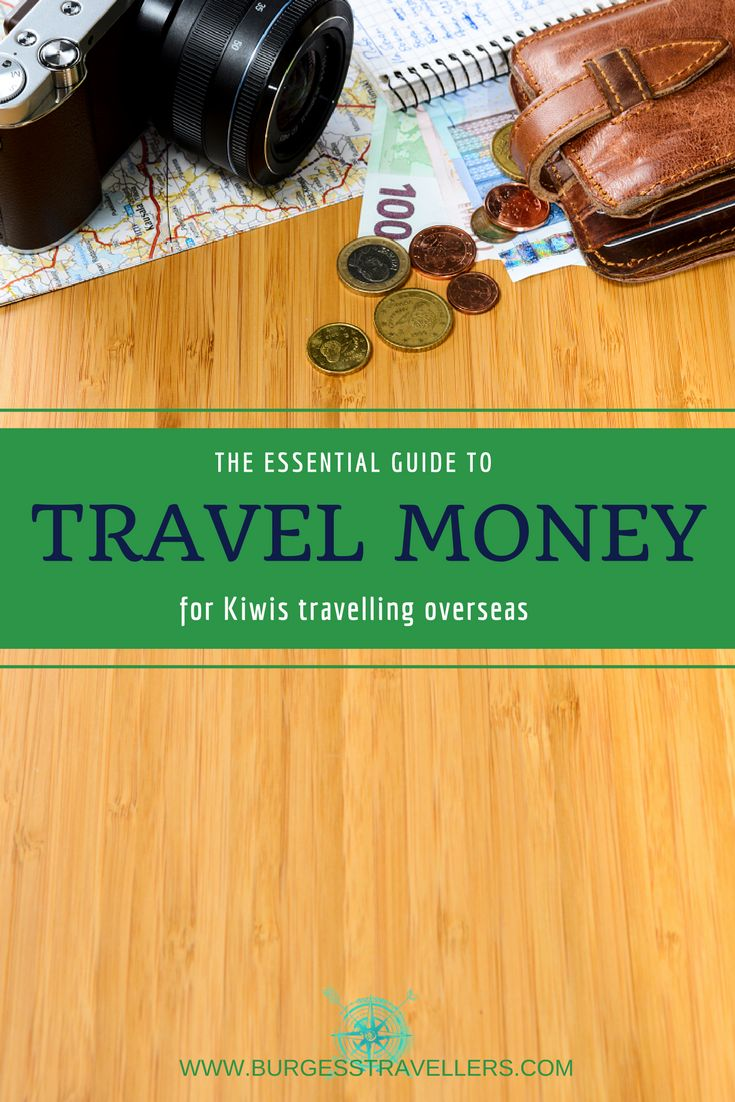 Essential Travel Money Tips for Kiwis - including handy travel card comparison chart & traveller reviews www.burgesstravellers.com