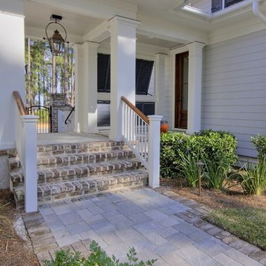Porch on pinterest front porch railings porch railings and home