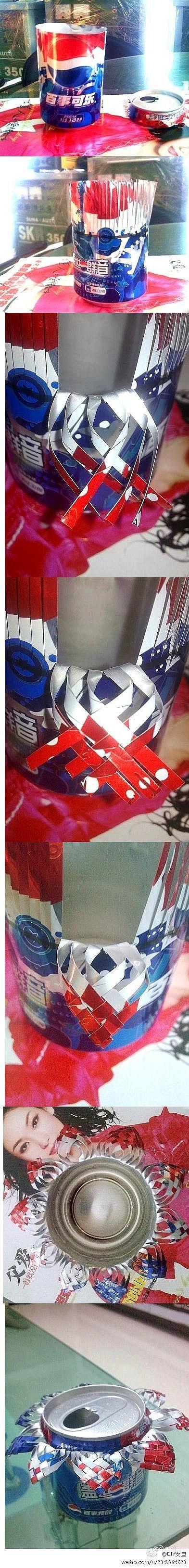 DIY Beautiful Coke Cans Ashtray
