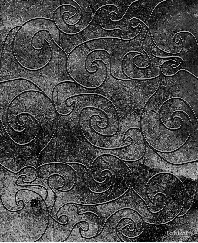 Graphite swirls, case available for iPhone, iPad and Samsung Galaxy!