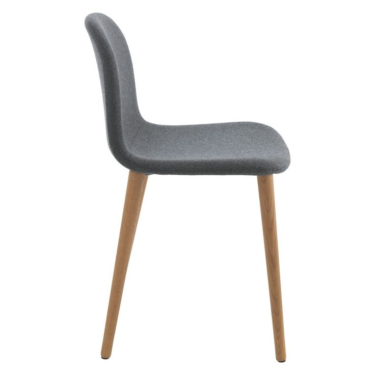 bacco grey upholstered dining chair