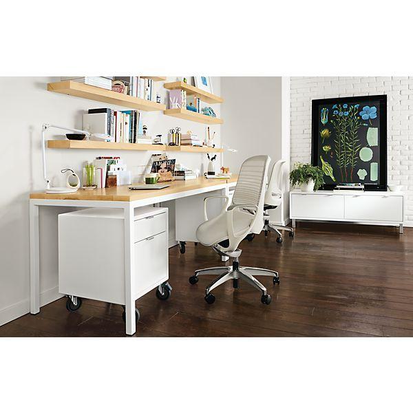 1000 ideas about shelves above desk on pinterest desk. Black Bedroom Furniture Sets. Home Design Ideas