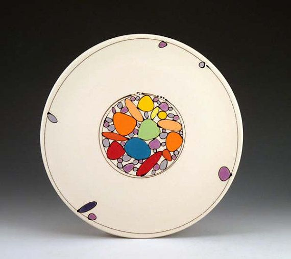 Dinner Plates for Sara and Jeff by FreeCeramics on Etsy