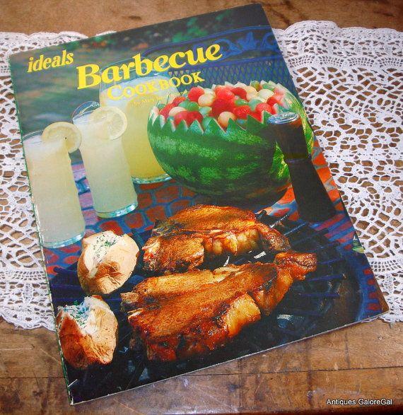 Barbecue Cookbook BBQ Recipes Ideals Cookbook by AntiquesGaloreGal