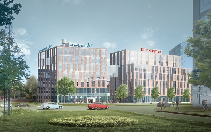 Akzo Nobel Head office - Scheiwiller Svensson Arkitektkontor