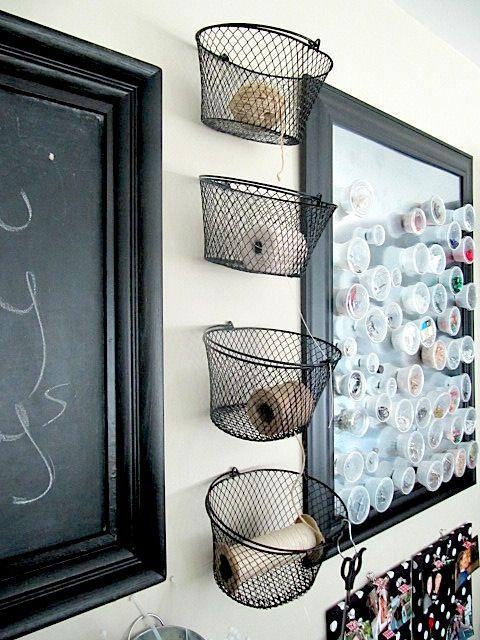 Sew Many Ways...: organizing. Sewing Room OrganizationOrganization  IdeasStorage ... - 27 Best Organizing Images On Pinterest