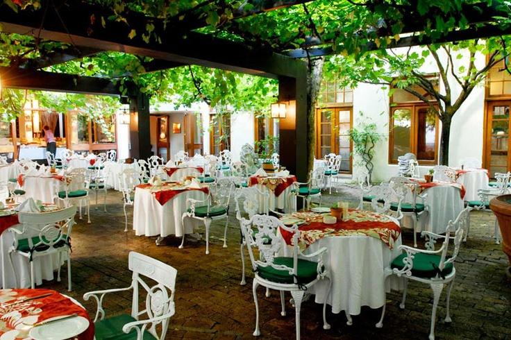 1802 Restaurant, D'Ouwe Werf, Stellenbosch