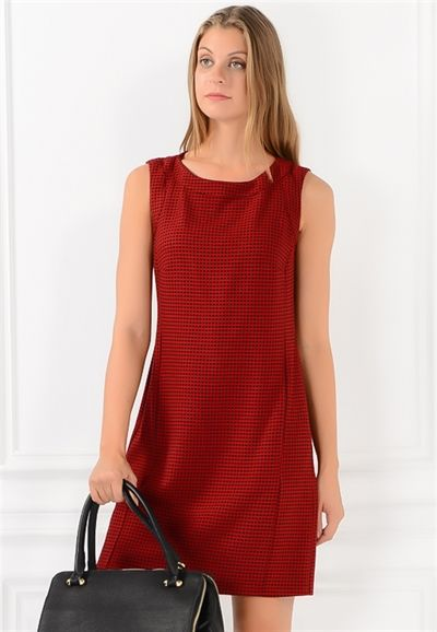 Kolsuz Mini Elbise - Elbise