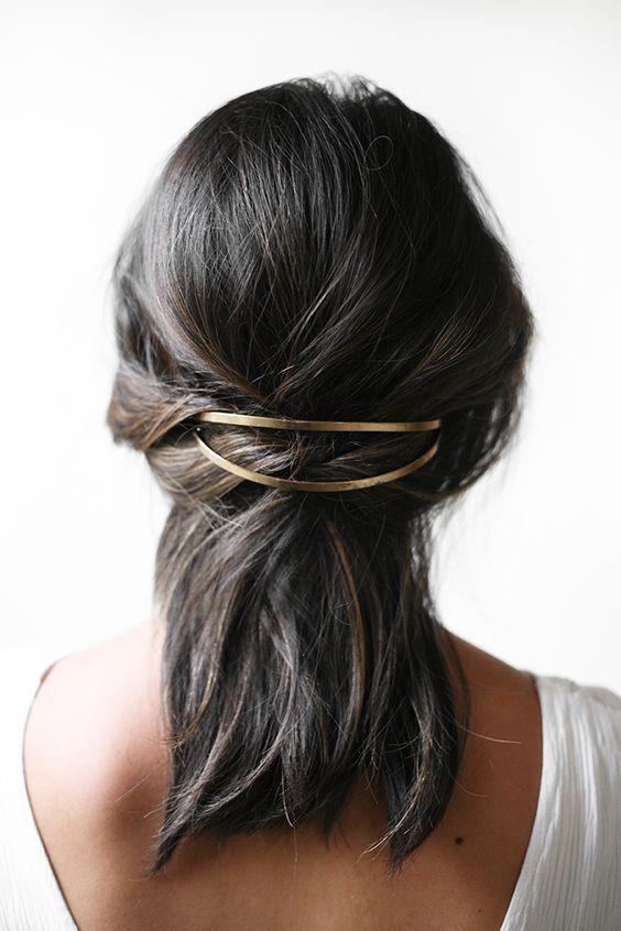 Gold-Haar-Accessoires sind jetzt im Trend – Trend …